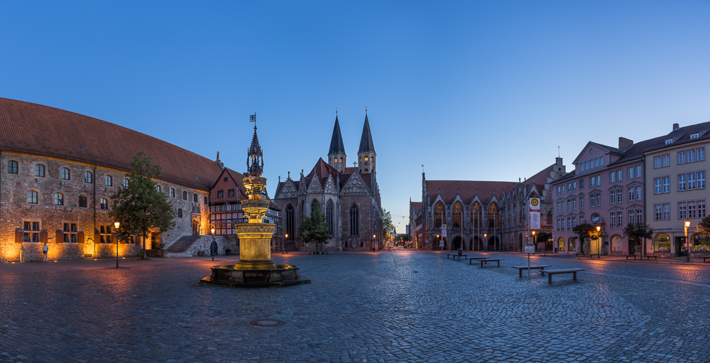 Altstadtmarkt Braunschweig Panorama