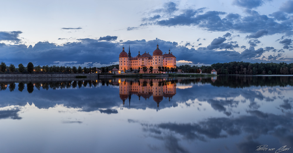 Schloss Moritzburg Panorama