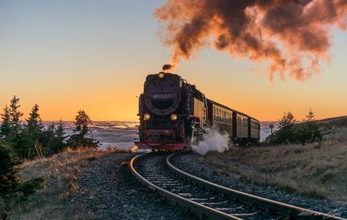 Harzer Schmalspurbahn Nebel