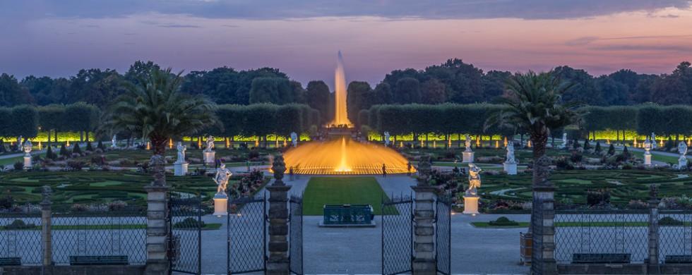 Herrenhäuser Gärten Großer Garten Pano