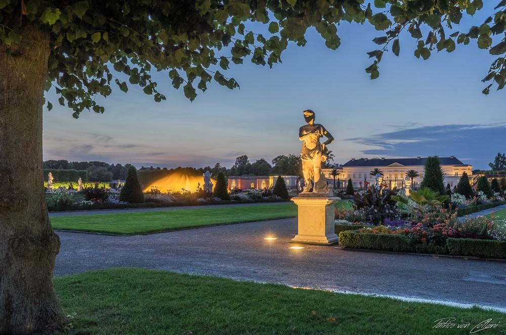 Meleager & Glockenfontäne Herrenhäuser Gärten