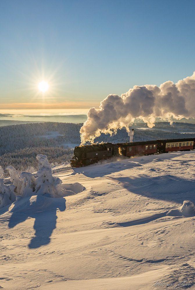Hochformat Harzer Schmalspurbahn X