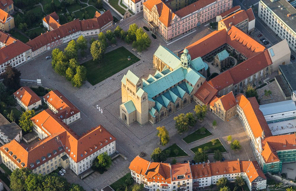 Luftbild Hildesheimer Dom