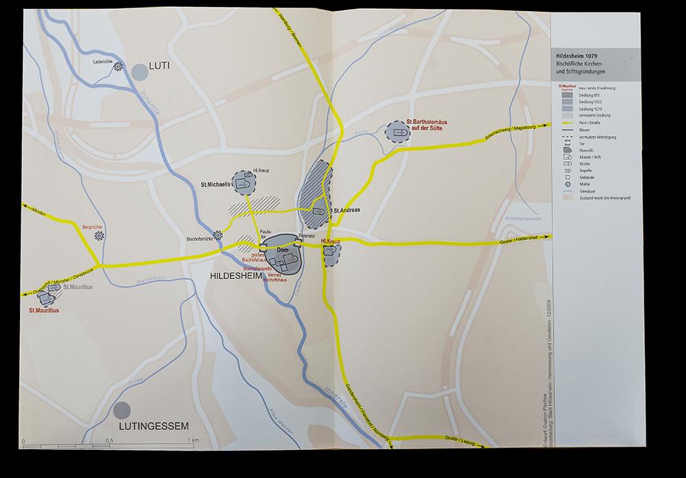 Karte Pischke Hildesheim 1079