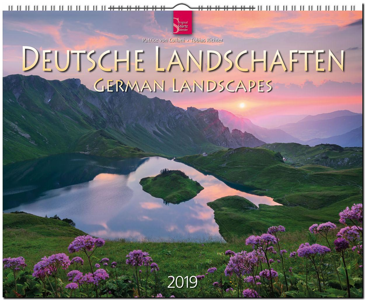 Kalender Deutsche Landschaften 2019 Cover