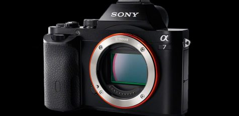 Sony Alpha 7 Frontansicht